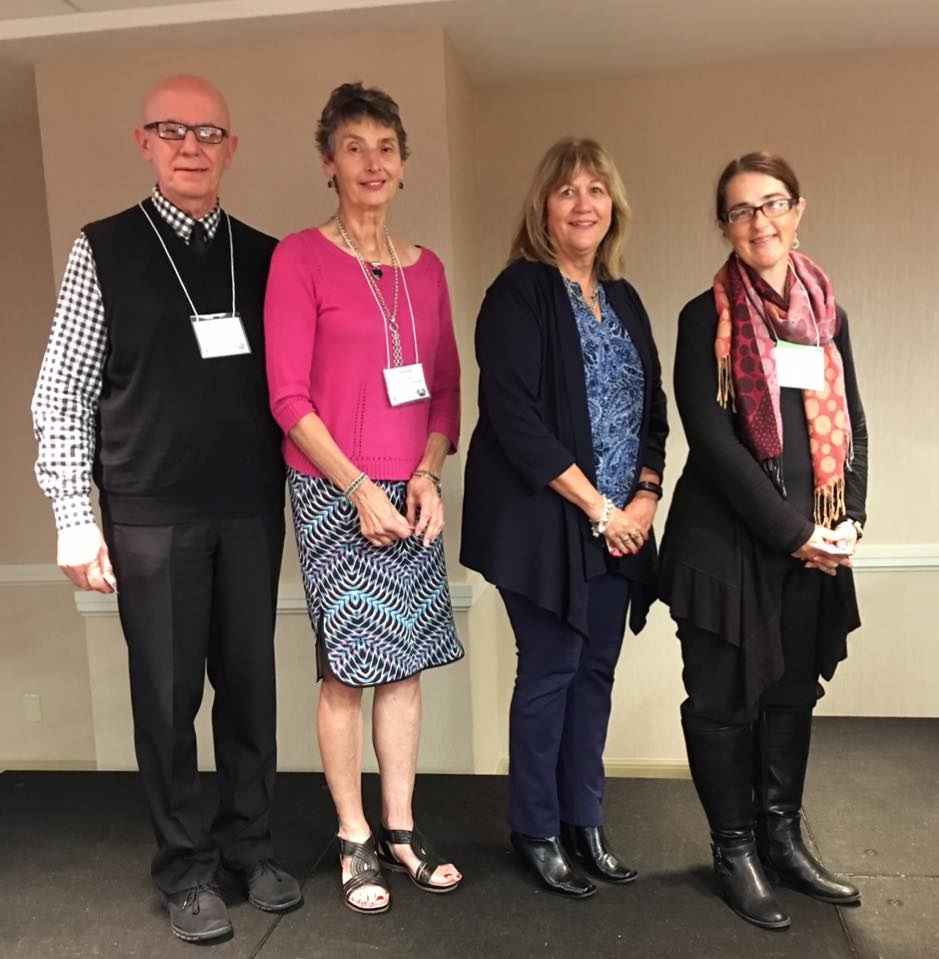 10 years of membership: Russ Mancl, Therese Horvat, Debbi Della Porta, Diane Curtis